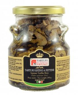 Tartufo Estivo a Fettine 250 g, in vasetto di vetro - Tartufi Alfonso Fortunati