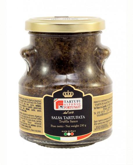 Salsa Tartufata 250 g, in vasetto di vetro - Tartufi Alfonso Fortunati
