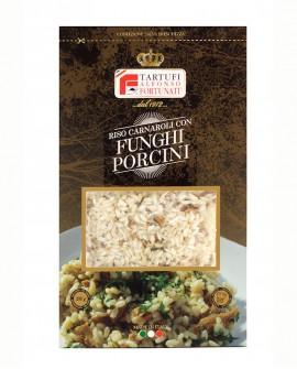 Riso e Funghi Porcini 200 g, in busta - Tartufi Alfonso Fortunati