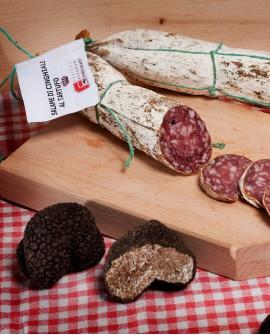 Salame di cinghiale al tartufo 1,5 Kg - Tartufi Alfonso Fortunati