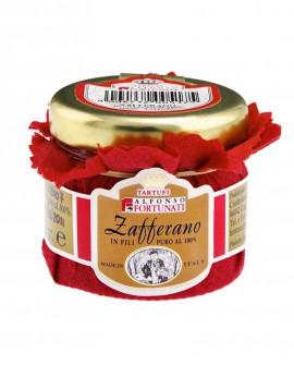 Zafferano in fili puro al 100%,in vasi da 0,25 g - Tartufi Alfonso Fortunati