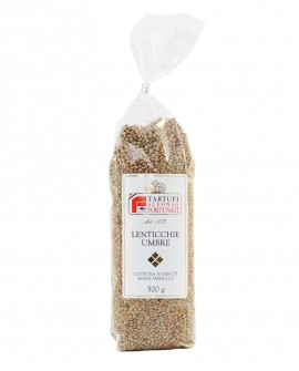Lenticchie in confezioni da 500 g - Tartufi Alfonso Fortunati