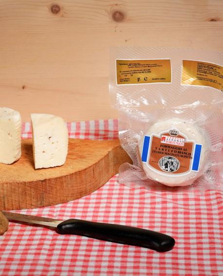Formaggio al Tartufo Bianco (TuberMagnatum Pico) 180-200 g - Tartufi Alfonso Fortunati