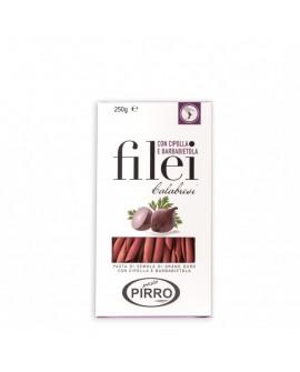 Filei Cipolla e Barbabietola pasta di semola di grano duro 250 g - Pastificio Pirro