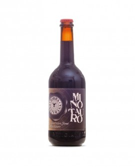 Birra Minotauro - birra scura extra scout - 75 cl - Birrificio Pasturana