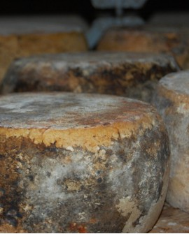 Pecorino Umbro Etrusco Stagionato in Fossa con Tartufo 300 g - stagionato 360 giorni - Caseificio Facchini