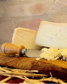 Formaggio contadino Pecorino latte non pastorizzato 600-700g - stagionato nella fossa - Fosse Venturi