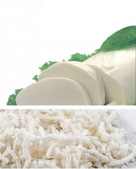 Mozzarella fior di latte JULIENNE kg.3 Caseificio Chirico