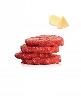 Hambuger 100g di Chianina IGP al Formaggio - 1 Kg - Carni Pregiate Certificate - Tenuta Luchetti
