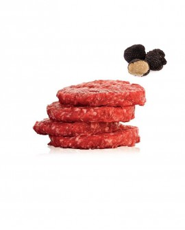 Hambuger al Tartufo di Chianina 1 kg - Carni Pregiate Certificate - Fattoria Luchetti