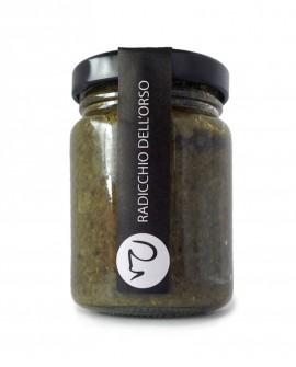 Radicchio dell'orso (salsa) condimento 106 gr erbe di montagna - Primitivizia