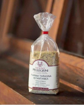 Farina taragna istantanea - sacco 5 kg - Molino Pellegrini