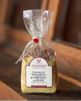 Polenta istantanea ai finferli e rose - Linea Specialità - 350g Molino Pellegrini