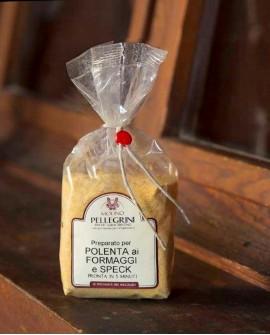 Polenta istantanea speck e formaggi - Linea Specialità - 350g - Molino Pellegrini