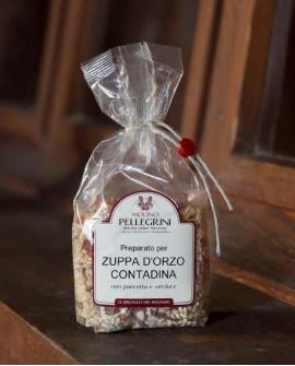 Zuppa orzo contadina con pancetta - Linea Specialità - 300g - Molino Pellegrini
