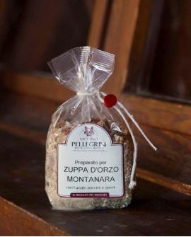 Zuppa orzo montanara con porcini e speck - Linea Specialità - 300g - Molino Pellegrini