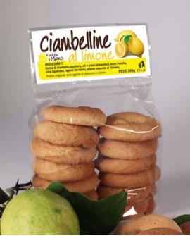 Ciambelline limone artigianali 250 g - Pasticceria Stefano Campoli