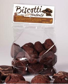 Biscotti extra-dark artigianali 250 g - Pasticceria Stefano Campoli