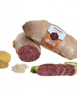 Salame cotto d'oca GOLIARDO 60 g - Oca Sforzesca