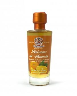Condimento Balsamico Aromatizzato Balsamo Arancia - base bianca 100 ml - Acetaia Malpighi