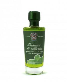Condimento Balsamico Aromatizzato Balsamo Menta - base bianca 100 ml - Acetaia Malpighi