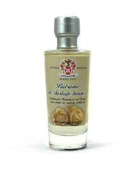 Condimento Balsamico Aromatizzato Balsamo Tartufo bianco - base bianca 100 ml - Acetaia Malpighi