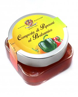 Composta di Peperoni al Balsamico 125 gr - Acetaia Malpighi
