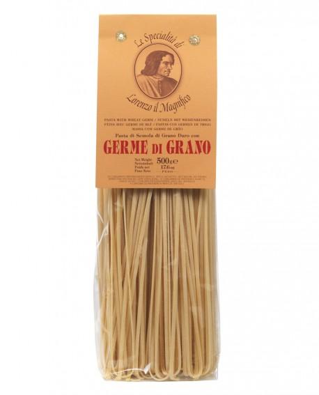 Linguine 500 gr Lorenzo il Magnifico - pasta al germe di grano - Antico Pastificio Morelli