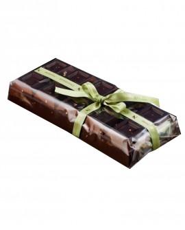 Tavoletta Cioccolato Fondente con Nocciole 1 Kg - Cioccolateria Napoleone Pietro