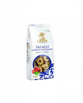 Taralli mediterraneo 250gr x 14 pz - Fiore di Puglia