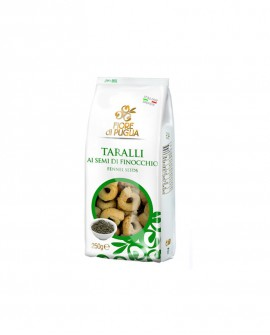 Taralli finocchio 250gr x 14 pz - Fiore di Puglia
