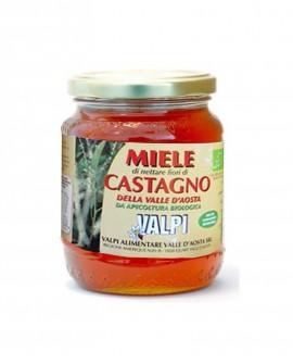 Miele castagno Valle d'Aosta biologico 500 g - Valpi