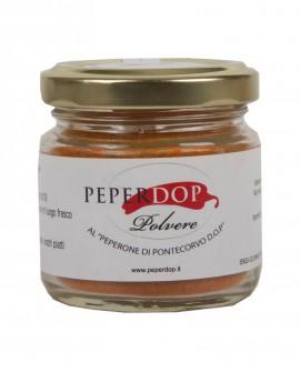 Polvere al Peperone dolce di Pontecorvo - 30 g - Peperdop