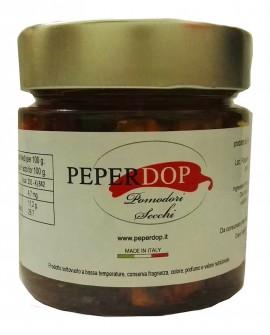 Pomodori secchi sott'olio - 210 g - Peperdop