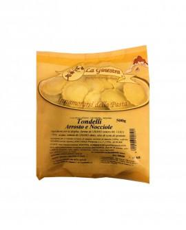 Tondelli arrosto e nocciole - 500 g pasta fresca all'uovo ripiena SURGELATA - Pastificio La Ginestra