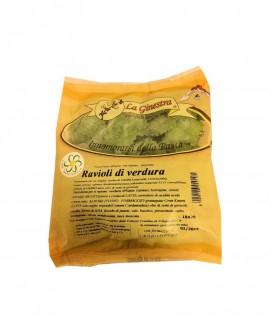 Ravioli di Verdura - 1 kg pasta fresca all'uovo ripiena SURGELATA -  Pastificio La Ginestra