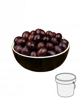 Olive Gaeta - Itrana Nere in salamoia - Secchiello plastica 5 kg - Gli Orti di Guglietta