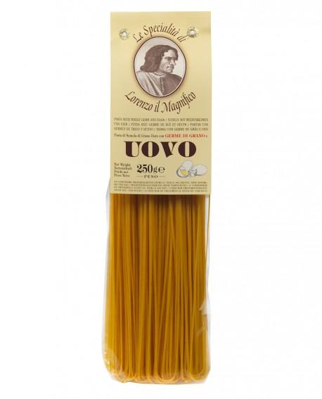Tagliatelle 250 gr Lorenzo il Magnifico - pasta al germe di grano all'uovo - Antico Pastificio Morelli