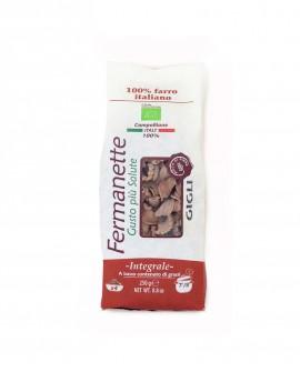 Gigli di farro Fermanette - Pasta corta integrale biologica - Sacchetto da 250g - Pastificio Marcozzi