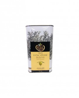 L'Eccellente Olio Extravergine di Oliva 100% italiano - Lattina 1 litro - Gli Orti di Guglietta