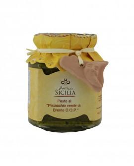Pesto al pistacchio Verde di Bronte D.O.P. - 90 g - Antica Sicilia