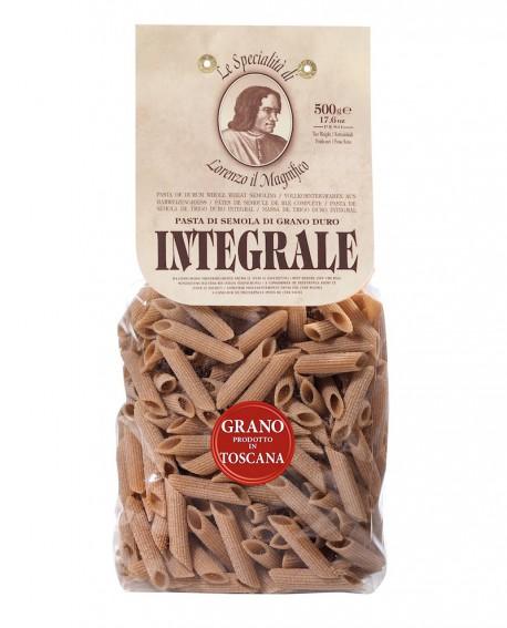 Penne Integrali – Grano toscano 500 gr Lorenzo il Magnifico - pasta integrale - Antico Pastificio Morelli