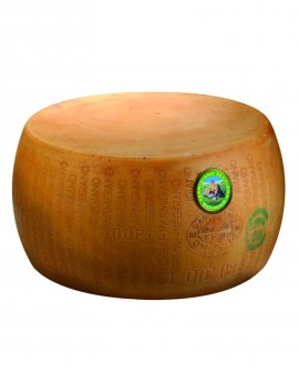 Forma intera Parmigiano Reggiano DOP BIOLOGICO classico 20-22 mesi - 36-38 kg - Montanari & Gruzza
