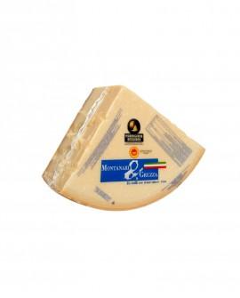 1/8 Forma SV Parmigiano Reggiano DOP classico 16-18 mesi - 4,5-4,7 kg - Montanari & Gruzza