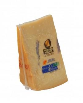 Punta doppia crosta SV Parmigiano Reggiano DOP classico mezzano rigato 13-14 mesi - 1 kg - Montanari & Gruzza