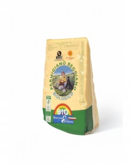 Punta doppia crosta SV Parmigiano Reggiano DOP BIOLOGICO classico 20-22 mesi - 1 kg - Montanari & Gruzza