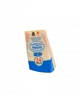 Punta doppia crosta SV Parmigiano Reggiano DOP classico 22-24 mesi - 500 g - Montanari & Gruzza