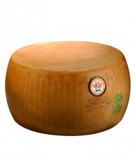 Forma intera Parmigiano Reggiano La Gigantina 28-30 mesi - 38-40 kg - Montanari & Gruzza