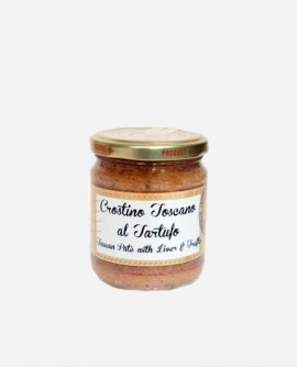 Crostino toscano fegatini e tartufo g 180 Gemignani Tartufi