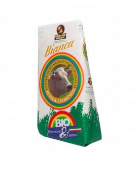 Punta doppia crosta SV Parmigiano Reggiano Biologico Vacca Bianca Modenese 40 mesi - 1 kg - Montanari & Gruzza